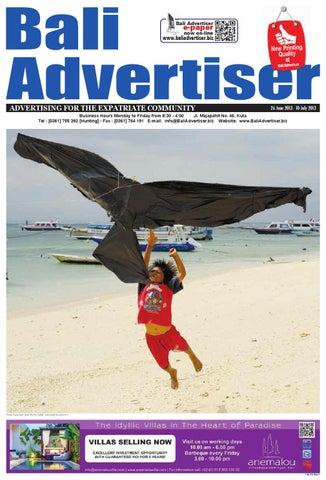 BA 26 June 2013 By Bali Advertiser