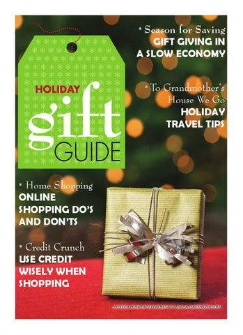 Fmuth news holiday gift guide 2012 52 by Vicky Hayden issuu
