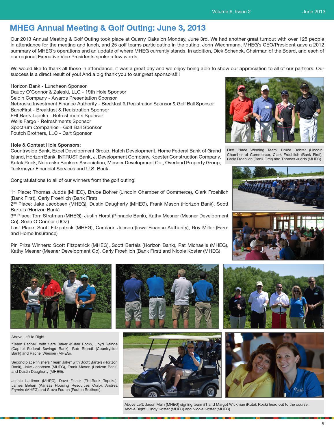 Jun 2013 newsletter by MHEGINC - issuu