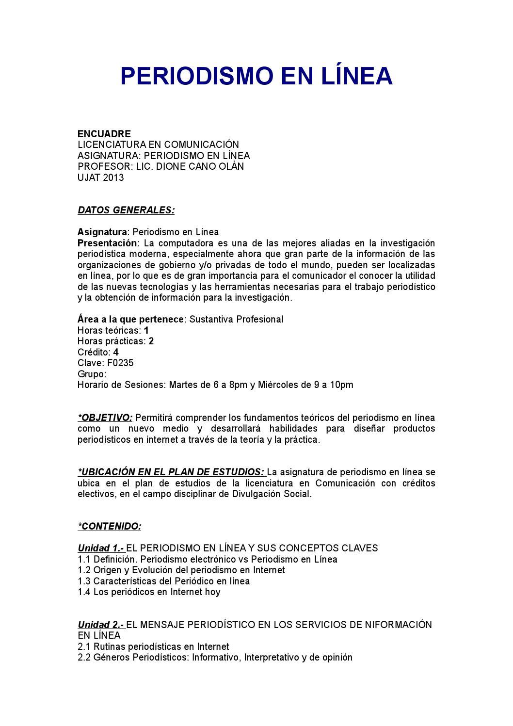 Encuadre peridosimo en linea by Dione Cano - issuu