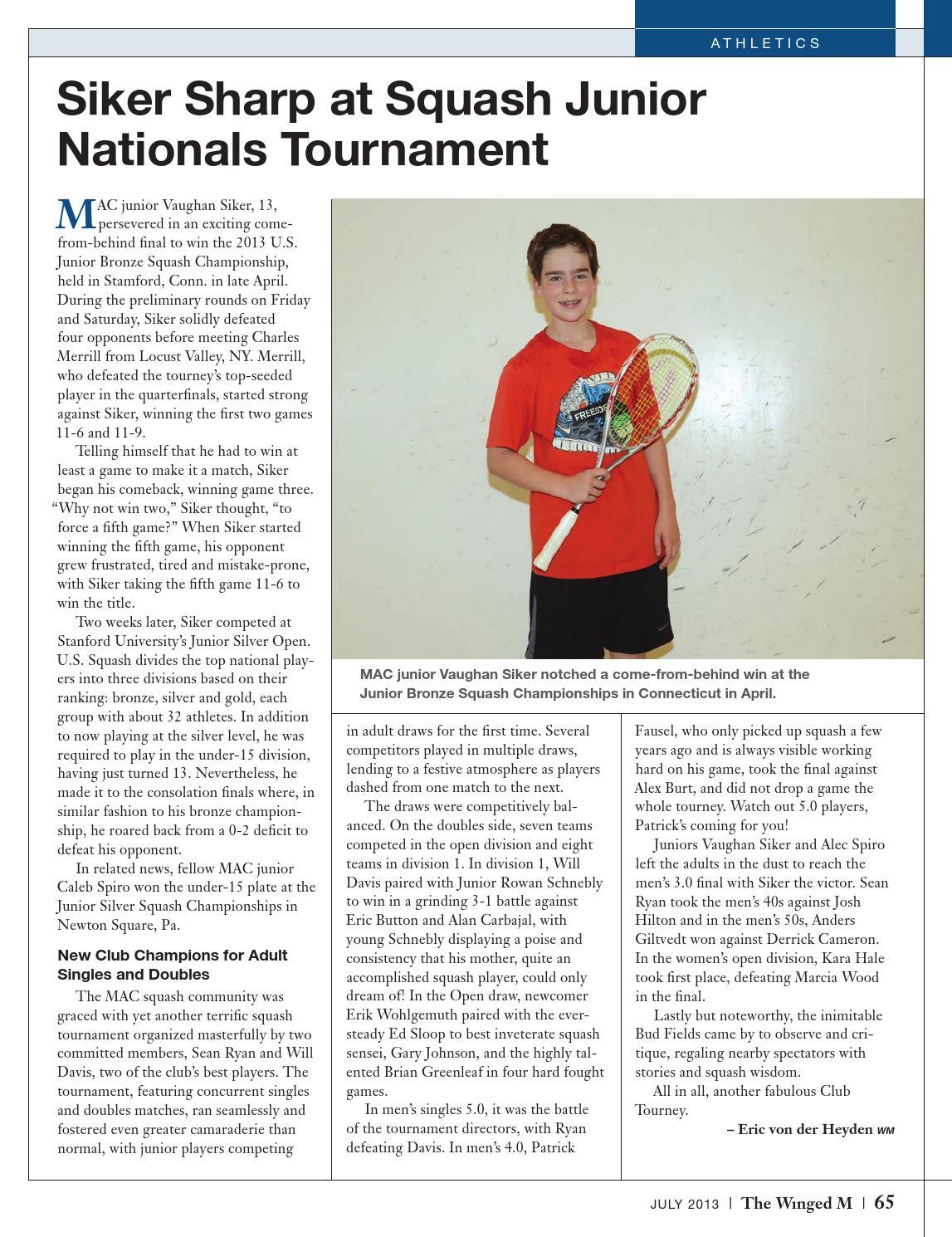 Eric Von Der Heyden the winged m july 2013multnomah athletic club - issuu