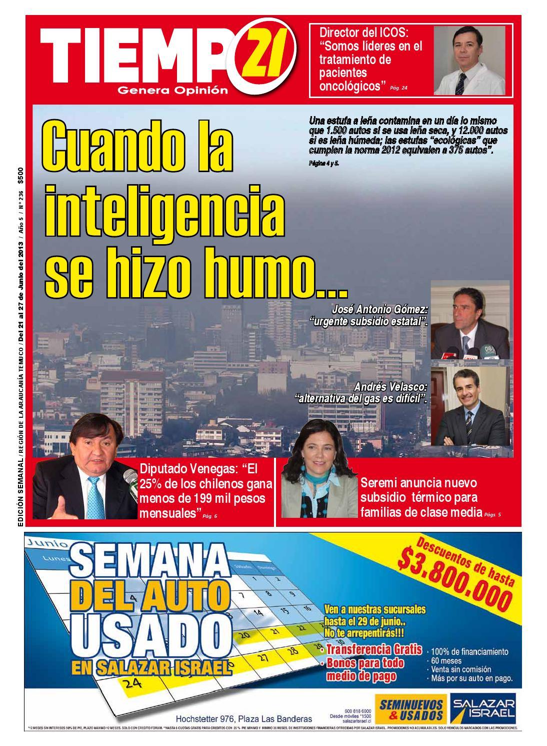 Tiempo 21 Araucania Edicion 236 By Tiempo21 Araucan A Edici N  # Muebles Caupolican San Carlos