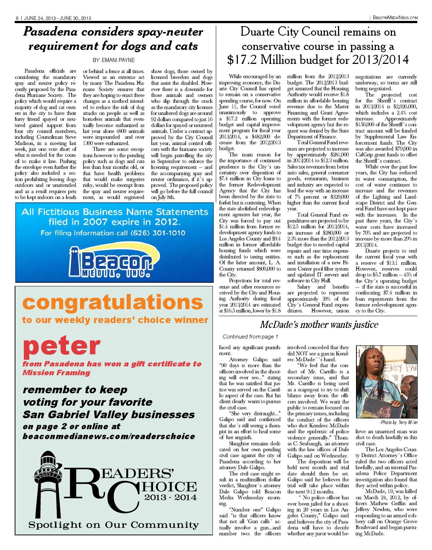 2013 06 24 rosemead reader by Beacon Media, Inc. - issuu