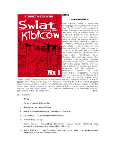 Świat kibiców nr 1 by Świat Kibiców - issuu e157da5e996