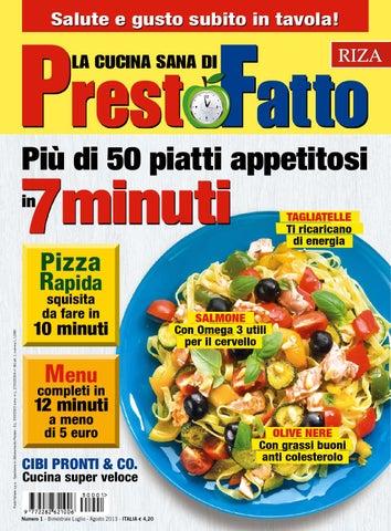 prestofatto la nuova rivista di cucina sana in edicola