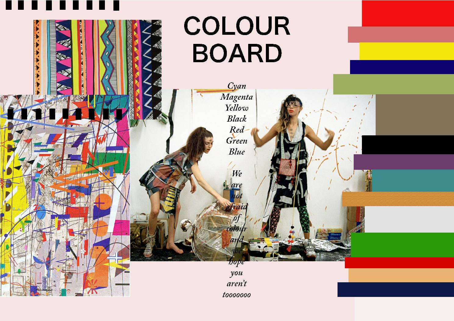 Colour Board By Jessica Saunders Issuu