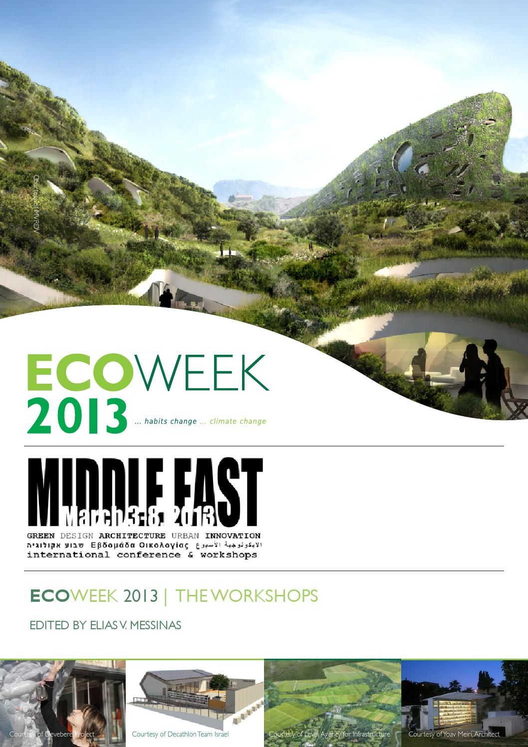 c1eda8c10 E053 Ecoweek 2013 by ZEZEZE Architecture Gallery - issuu