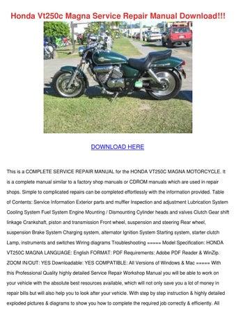 honda vt250c magna service repair manual down by fannydavison issuu rh issuu com honda vt250c service manual honda vt250c service manual pdf