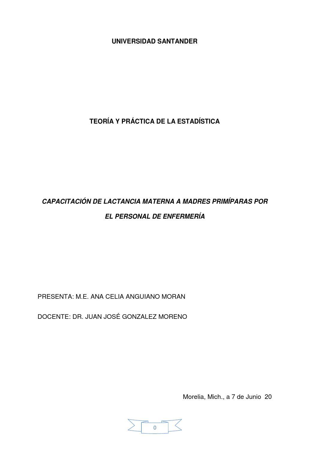 Lactancia materna by Ana Anguiano Morán - issuu