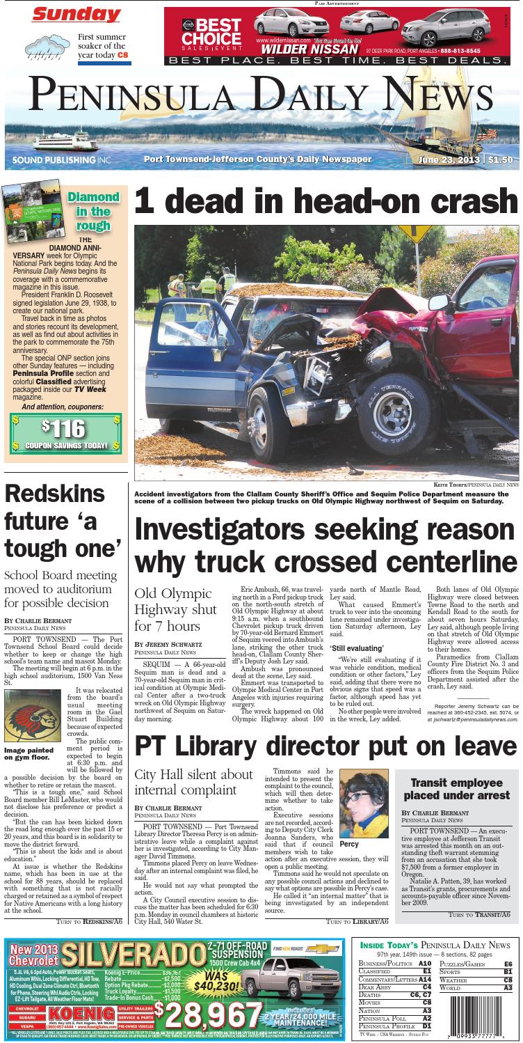 20130623J by Peninsula Daily News   Sequim Gazette - issuu 58dae13f284