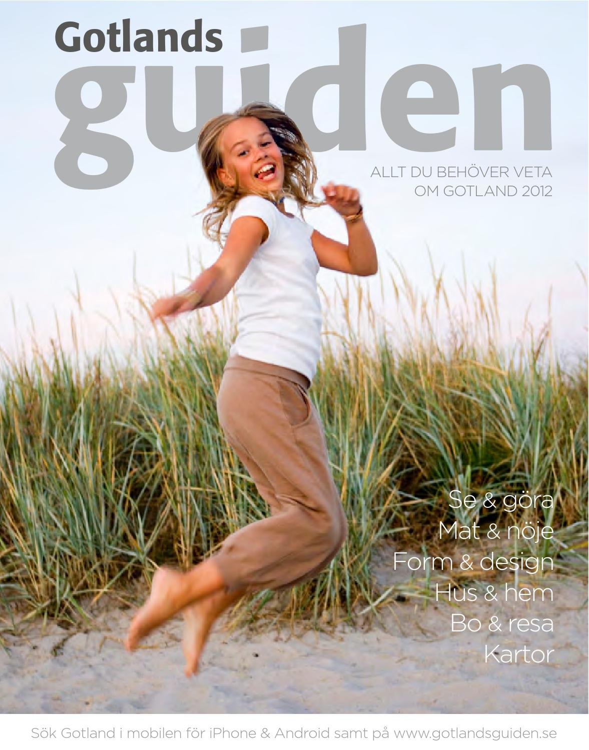 Gotlandsguiden 2012 by Gotlandsguiden - issuu 70712fa9d9072