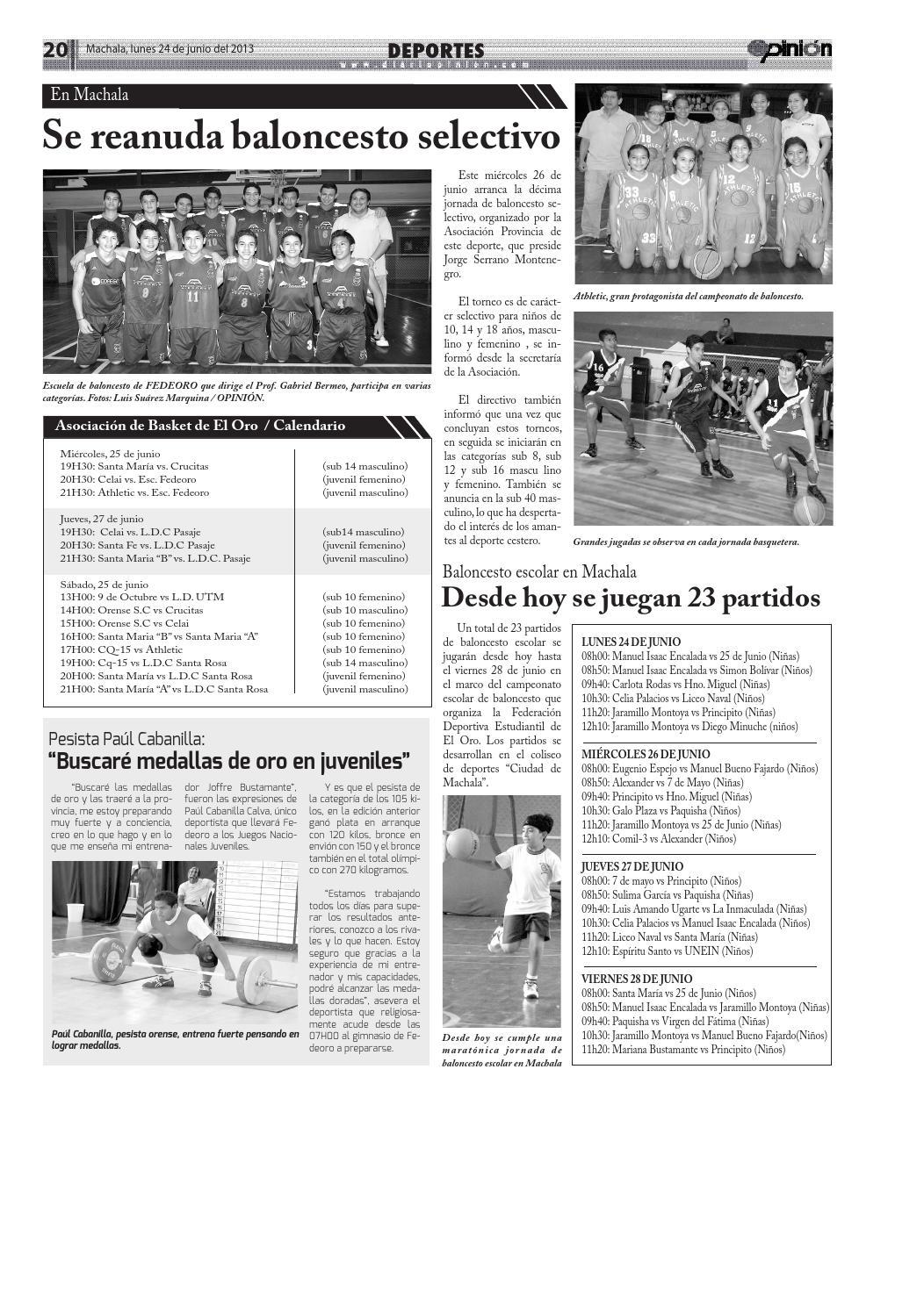 Impreso 24 06 13 by Diario Opinion - issuu