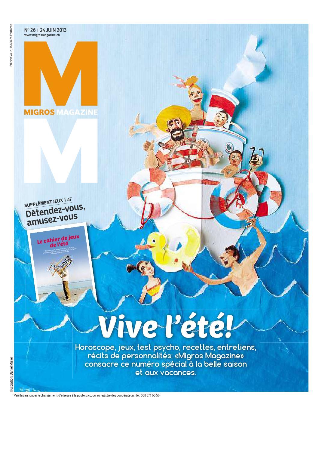 Migros magazin 26 2013 f vd by Migros-Genossenschafts-Bund - issuu 3ee62ca961c8