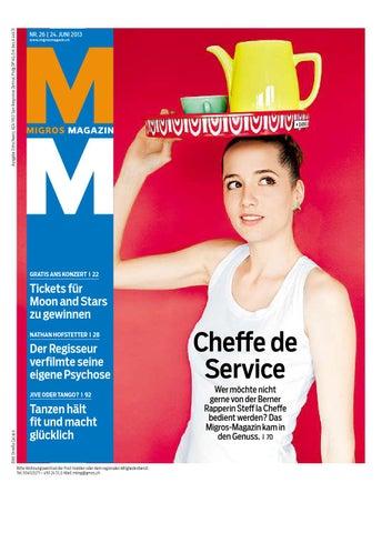 Migros Magazin 26 2009 d ZH by Migros Genossenschafts Bund issuu