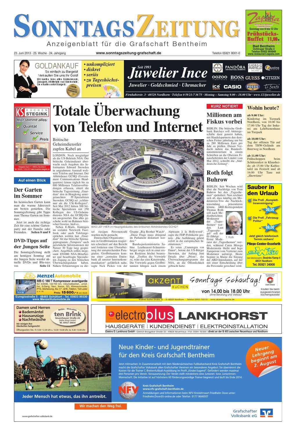 Sonz 23 06 2013 By Sonntagszeitung Issuu