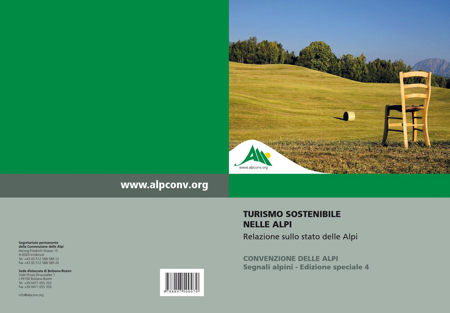 RSA4 - Turismo Sostenibile nelle Alpi by Permanent Secretariat of the  Alpine Convention - issuu eb82c693b502