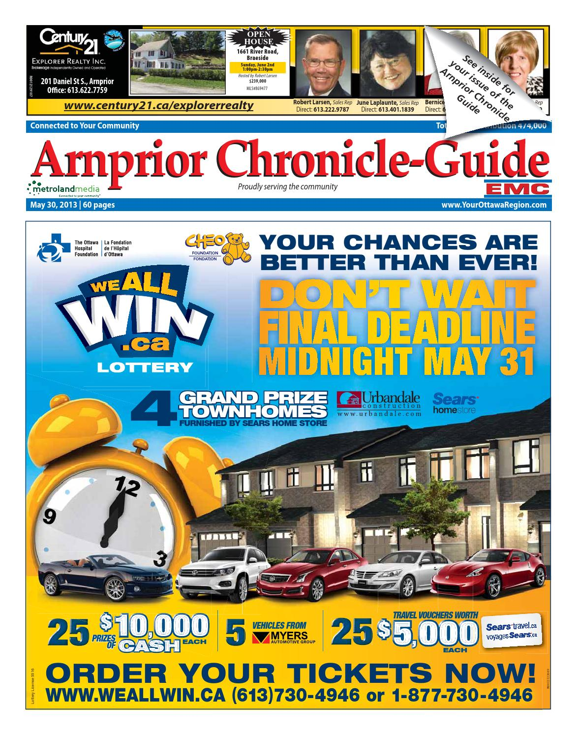 Arnprior053013 By Metroland East Arnprior Chronicle Guide Issuu Inbuilt Circuit Board Lights Gru Lamp