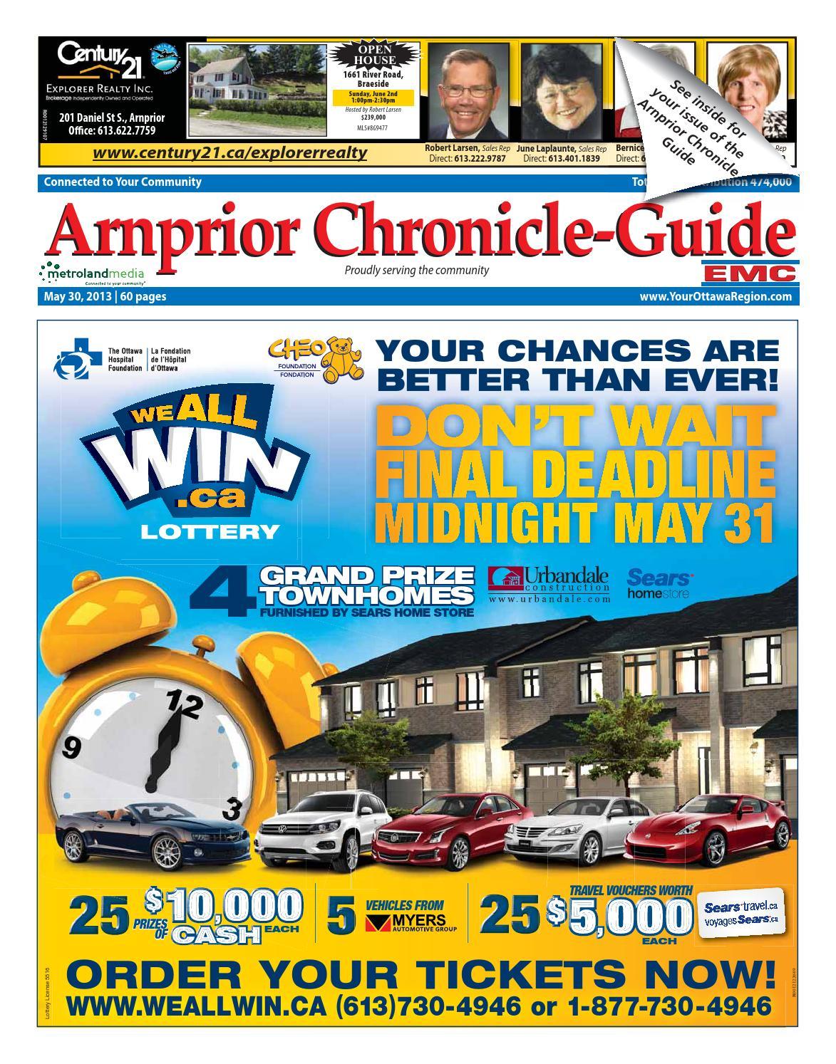 Arnprior053013 by Metroland East - Arnprior Chronicle-Guide - issuu
