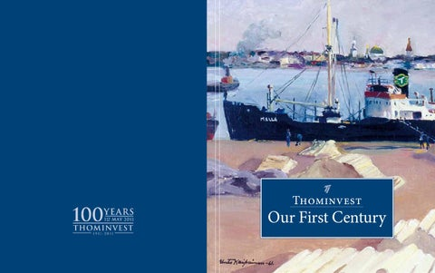 """Cover of """"Our First Century"""""""