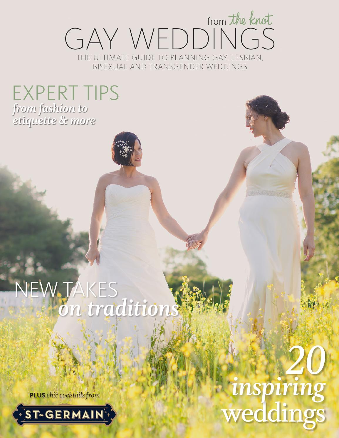 Gay Weddings From The Knot 2013 Edition 1 By Gay Weddings From