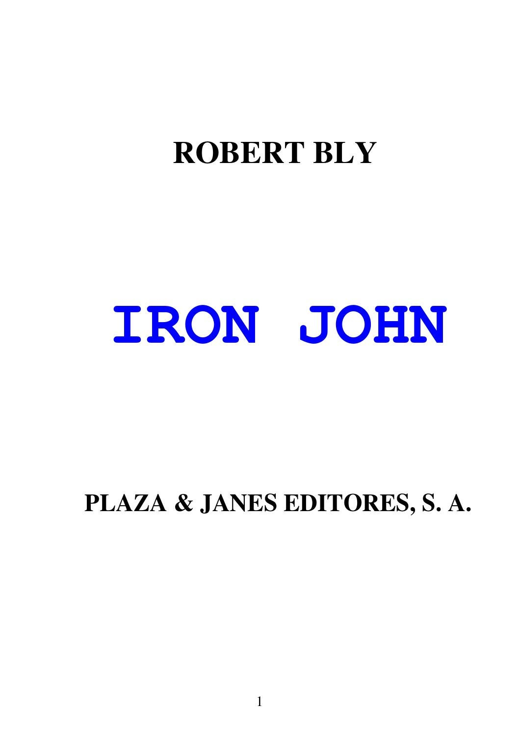 Iron John by Sebastian Herrera - issuu