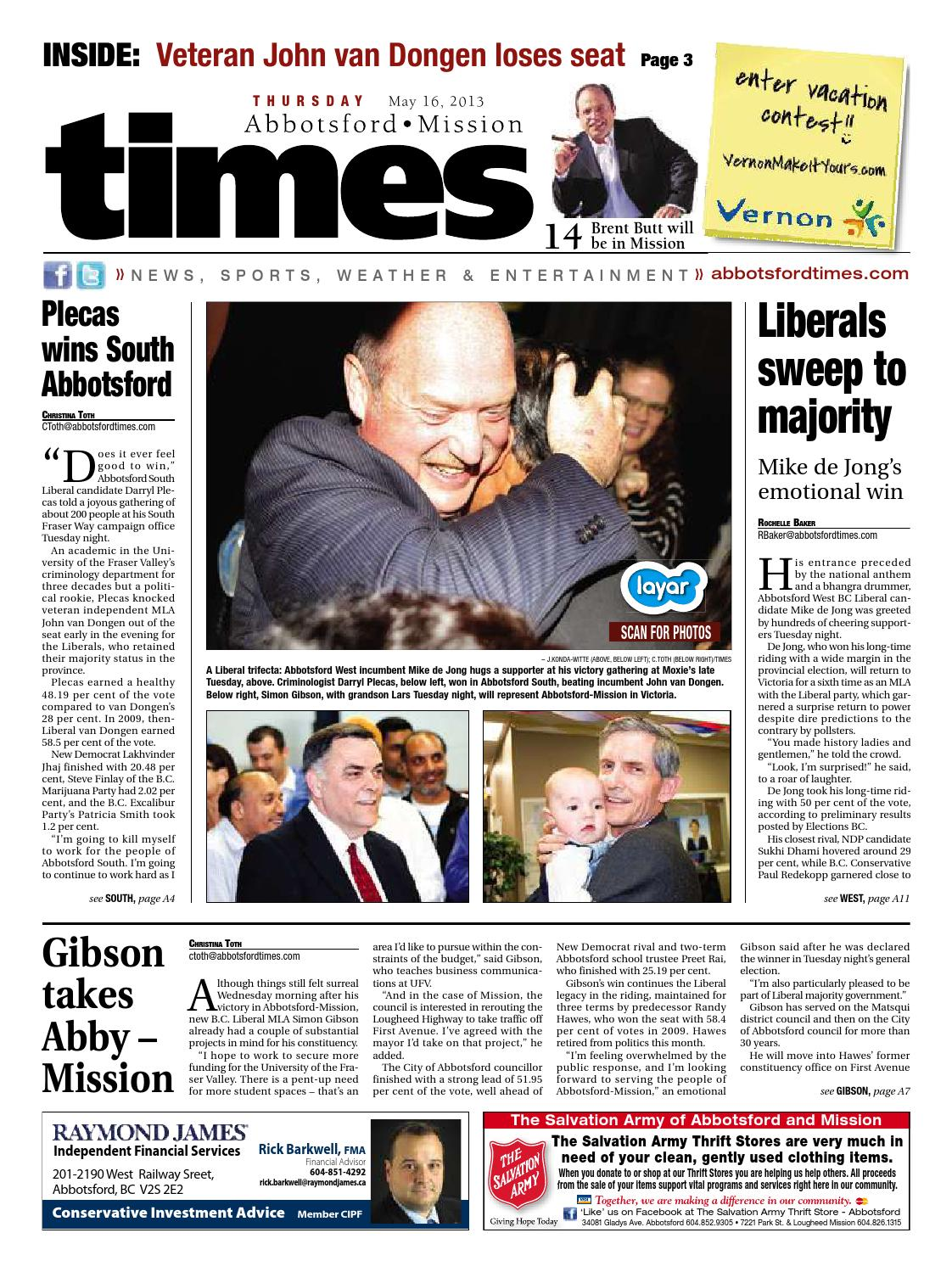 Abbotsford Times - May 16, 2013 by Abbotsford Times - issuu