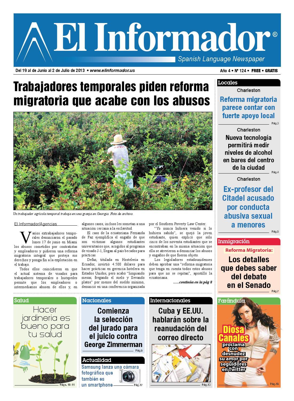 Elf 124 website chas by El Informador Spanish Language Newspaper - issuu