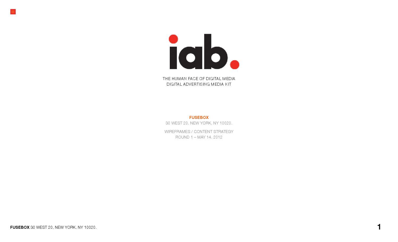 Iab Presentation By Issuu Fuse Box Ads