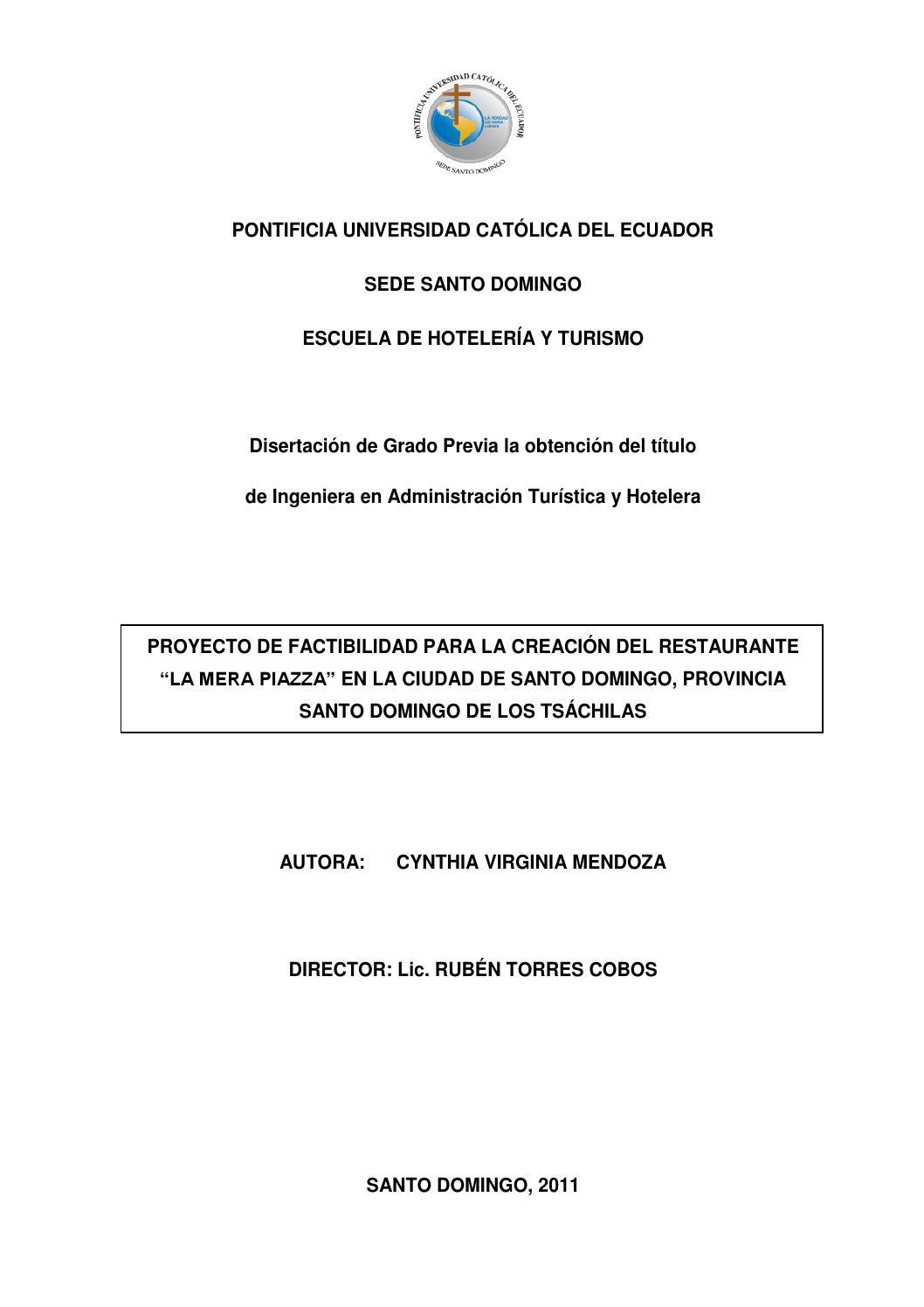 Creación del Restaurante La Mera Oiazza en SD by Pontificia ...