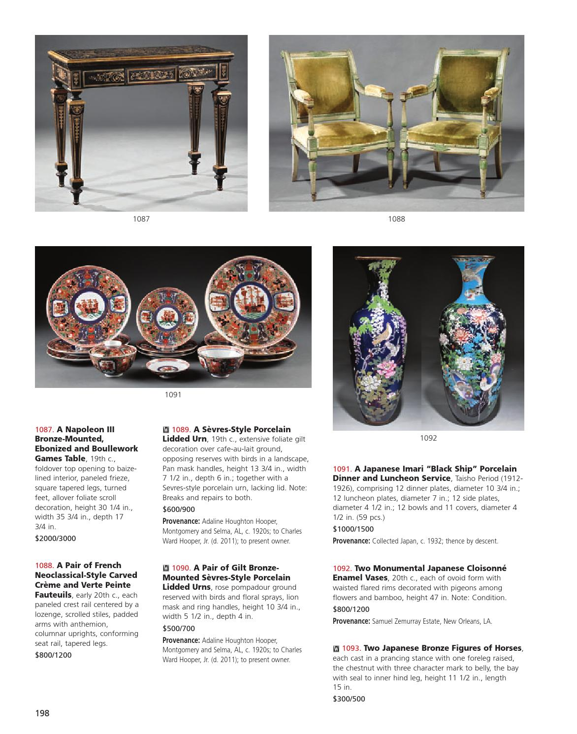 Diner Fauteuil Plaza.0613 By Neal Auction Issuu