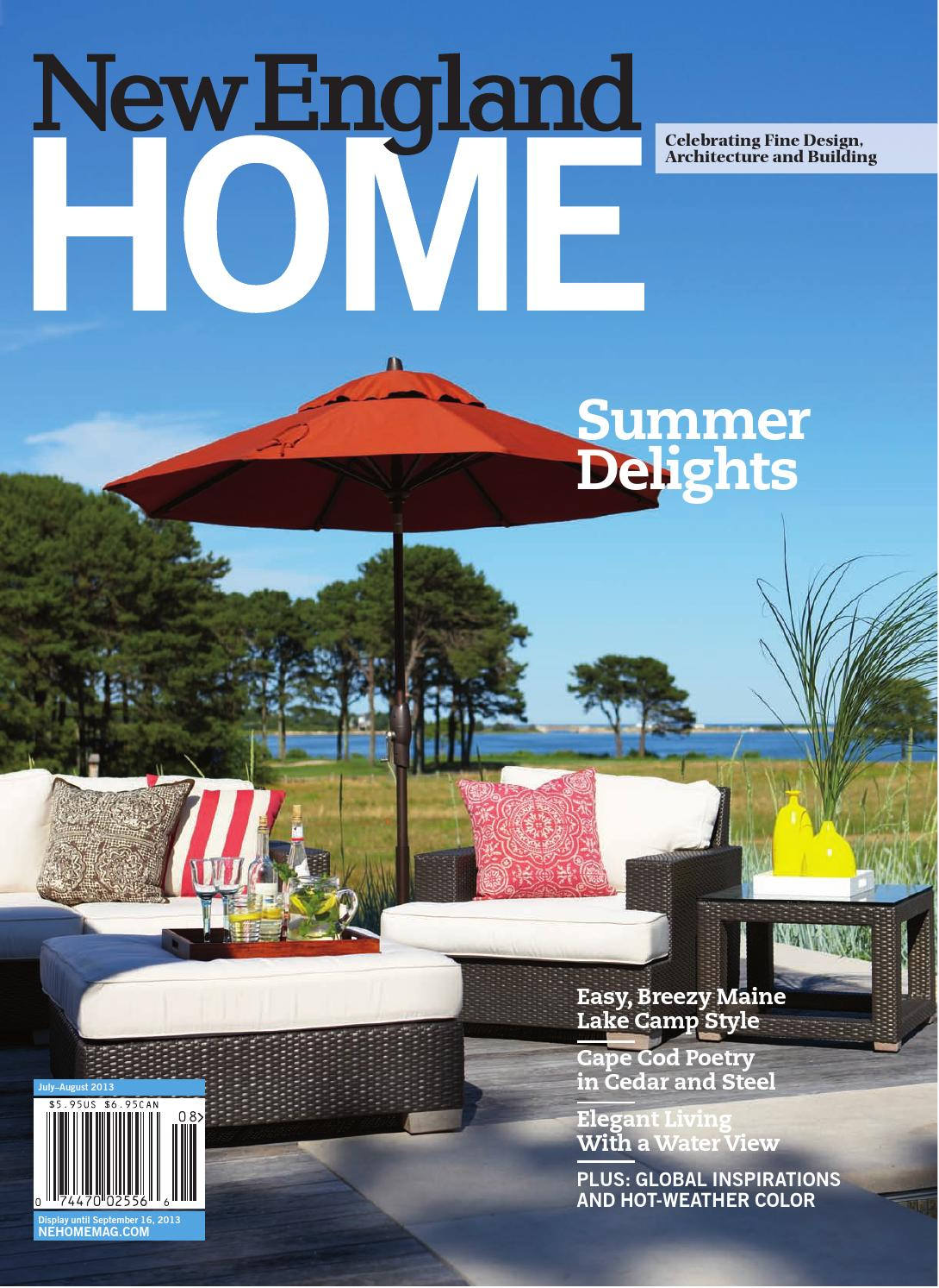 New England Home July August 2013 by Network Communications Inc. - issuu