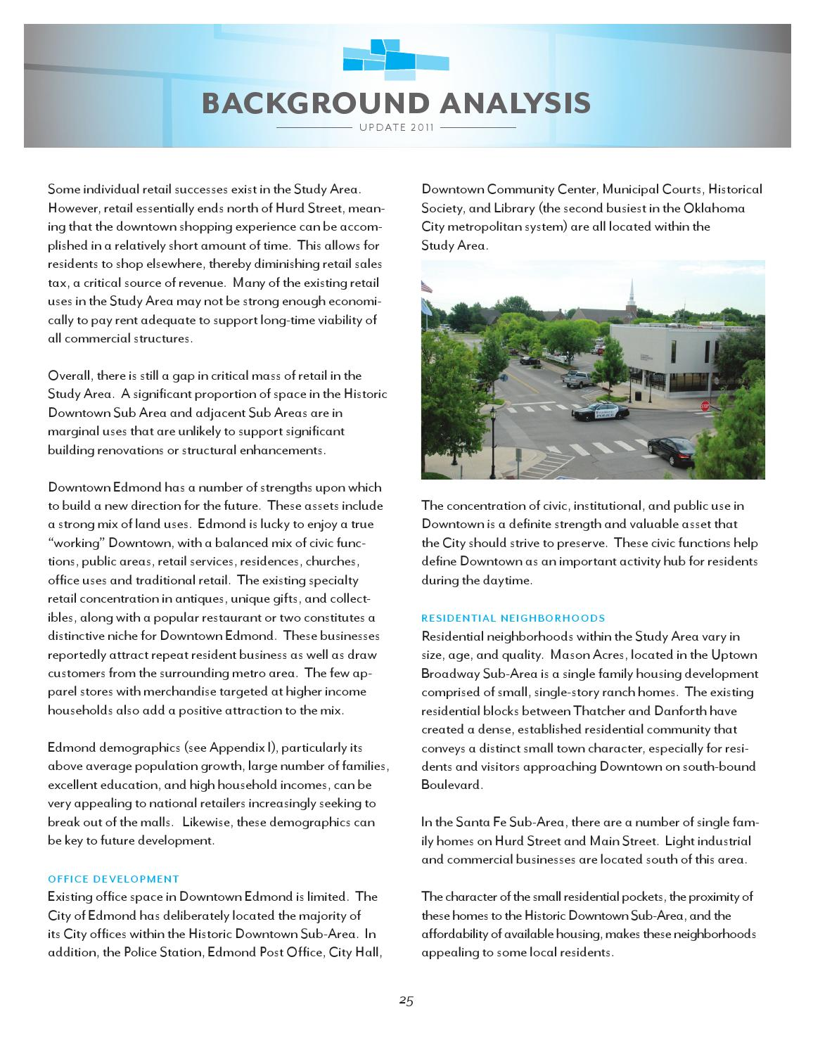 Edmond Downtown Master Plan by City of Edmond - issuu