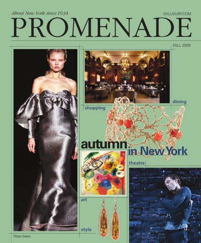 412fc8704c00 Promenade - Fall 2009 by Promenade Magazine - issuu