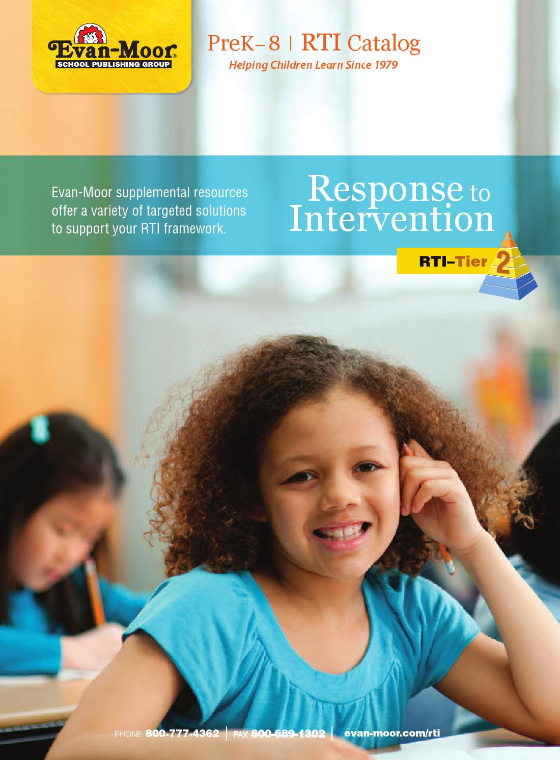 2013 Response to Intervention by Evan-Moor Educational