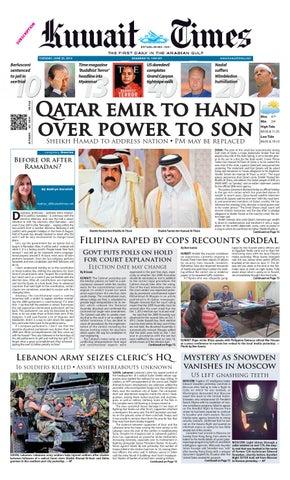 17 Mar 2013 by Kuwait Times - issuu 7c9e7f3121