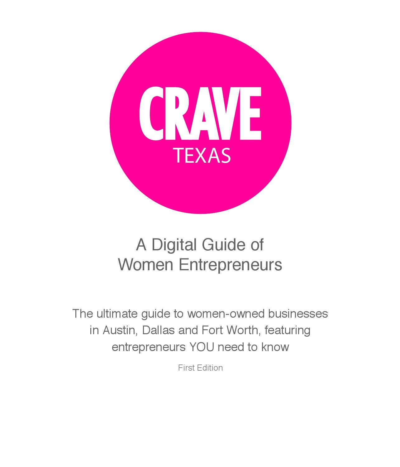 CRAVE Texas by The CRAVE Company - issuu