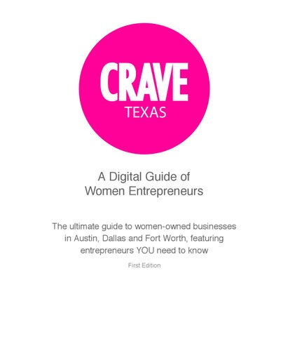 94bf491d9c03 CRAVE Texas by The CRAVE Company - issuu