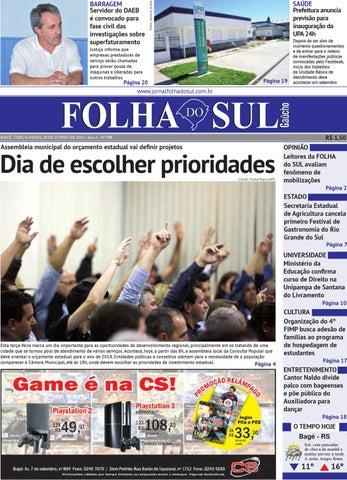 folha do sul gaúcho ed 958 (25 06 2013) by folha do sul gaúcho issuu958 Quem Apresenta O Video Show #10