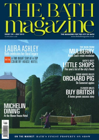 The Bath Magazine June 2017 by MC Publishing issuu
