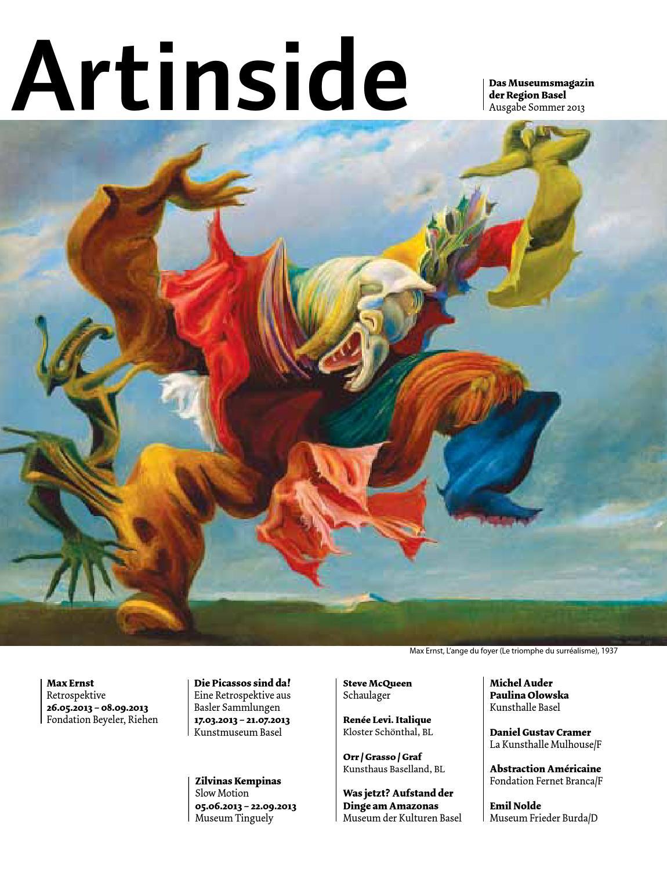 No Text Max Ernst-L/'Ange du Foyer Le Triomphe du Surrealisme -2013 Poster