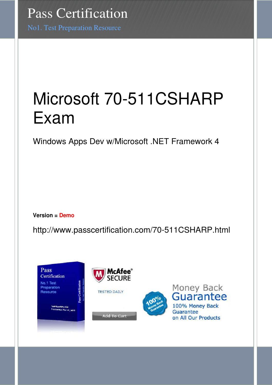 70 511csharp exam by Suzi - issuu