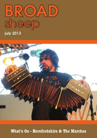 Broad Sheep July 2013