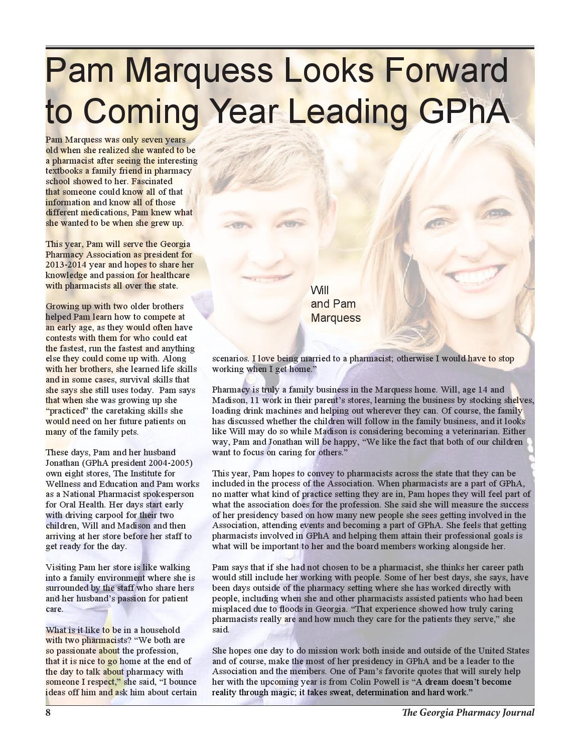 12039 June Gpha Journal Cj Fnl Lo By Georgia Pharmacy Association