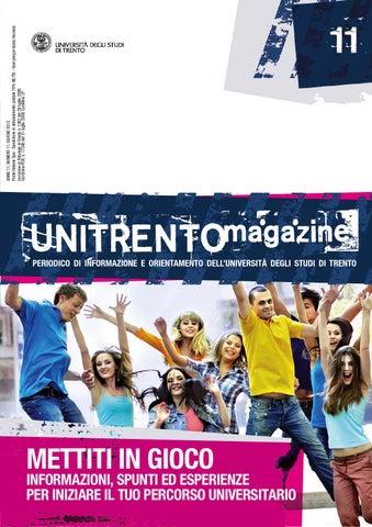 Unitn Calendario Accademico.Unitrentomagazine N 11 By University Of Trento Issuu