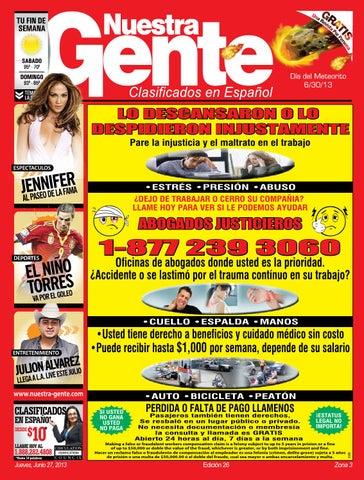 0776f524f9d7b Nuestra Gente 2013 Edicion 26 Zona 3 by Nuestra Gente - issuu