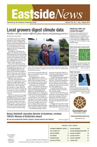 Eastside News Jul Aug 2013 By Eastside News Issuu