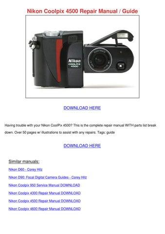 Download Nikon D60 PDF User Manual Guide