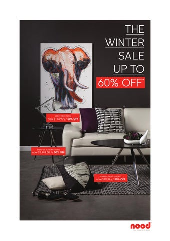Nood Winter Sale 2013 By Nood Issuu