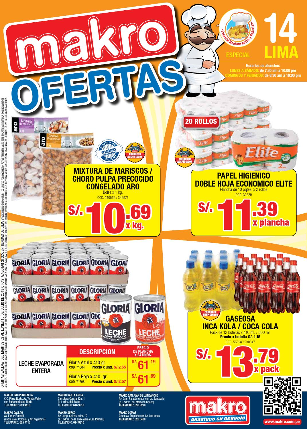 Makro ofertas by makro peru makro issuu for Makro asturias catalogo