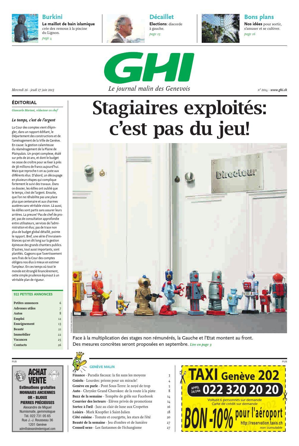GHI du 27.06.2013 by GHI   Lausanne Cités - issuu f9c3a137d12f